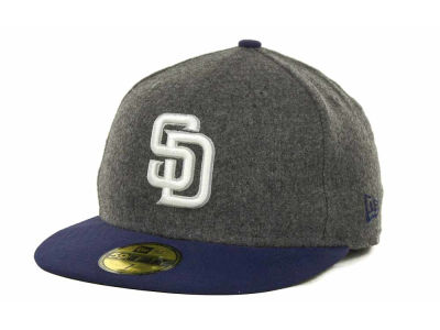 San Diego Padres MLB Melton Basic 59FIFTY Cap Hats