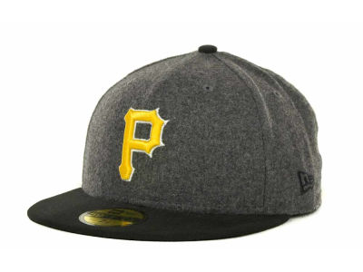 Pittsburgh Pirates MLB Melton Basic 59FIFTY Cap Hats
