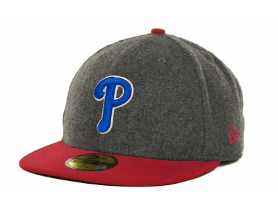 Philadelphia Phillies MLB Melton Basic 59FIFTY Cap Hats