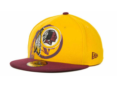Washington Redskins Over Flock 59FIFTY Cap Hats