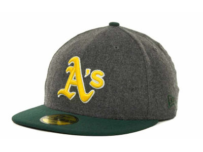 Oakland Athletics MLB Melton Basic 59FIFTY Cap Hats