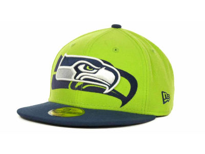 Seattle Seahawks Over Flock 59FIFTY Cap Hats