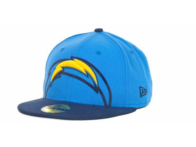 San Diego Chargers Over Flock 59FIFTY Cap Hats