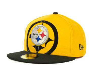 Pittsburgh Steelers Over Flock 59FIFTY Cap Hats