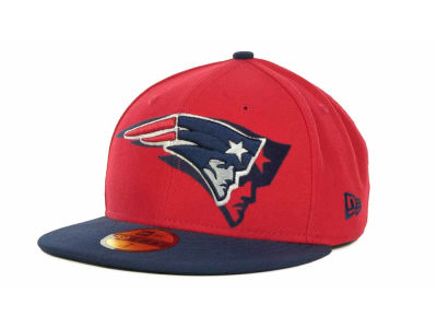 New England Patriots Over Flock 59FIFTY Cap Hats