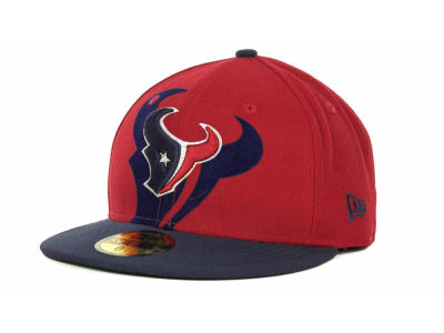 Houston Texans Over Flock 59FIFTY Cap Hats