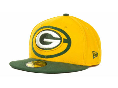 Green Bay Packers Over Flock 59FIFTY Cap Hats