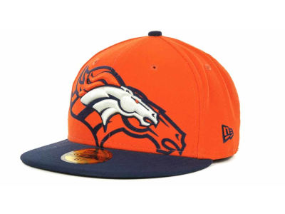 Denver Broncos Over Flock 59FIFTY Cap Hats