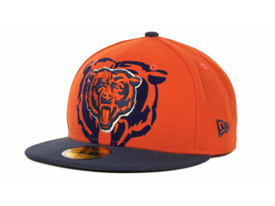 Chicago Bears Over Flock 59FIFTY Cap Hats