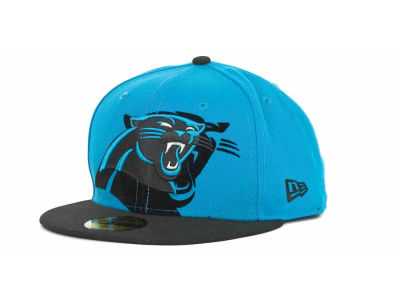 Carolina Panthers Over Flock 59FIFTY Cap Hats
