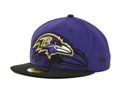 Baltimore Ravens Over Flock 59FIFTY Cap Hats