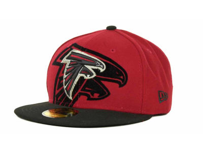 Atlanta Falcons Over Flock 59FIFTY Cap Hats