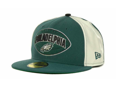 Philadelphia Eagles NFL Retro Patch 59FIFTY Cap Hats