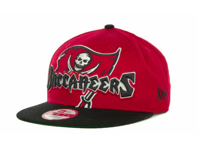 Tampa Bay Buccaneers NFL Squared Up 9FIFTY Cap Hats