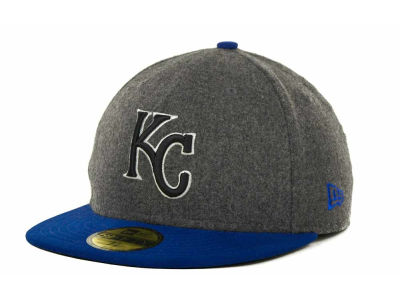 Kansas City Royals MLB Melton Basic 59FIFTY Cap Hats