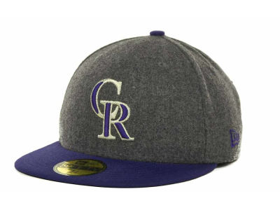 Colorado Rockies MLB Melton Basic 59FIFTY Cap Hats