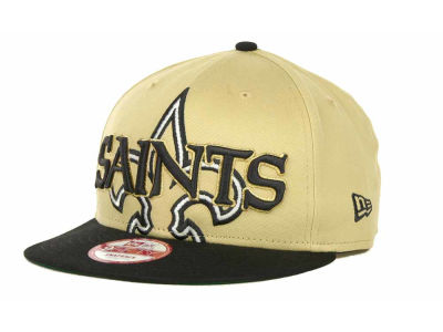 New Orleans Saints NFL Squared Up 9FIFTY Cap Hats