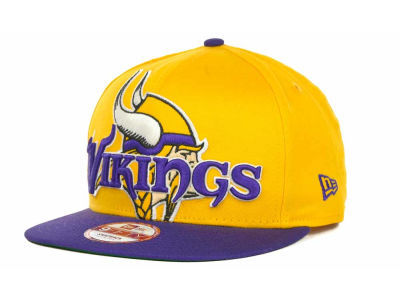 Minnesota Vikings NFL Squared Up 9FIFTY Cap Hats