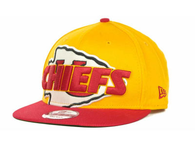Kansas City Chiefs NFL Squared Up 9FIFTY Cap Hats