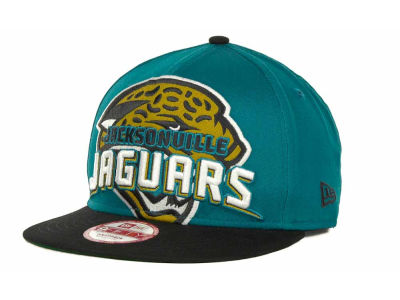 Jacksonville Jaguars NFL Squared Up 9FIFTY Cap Hats