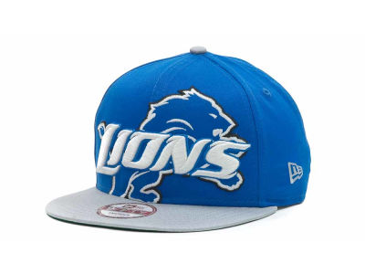 Detroit Lions NFL Squared Up 9FIFTY Cap Hats