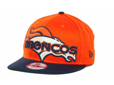 Denver Broncos NFL Squared Up 9FIFTY Cap Hats