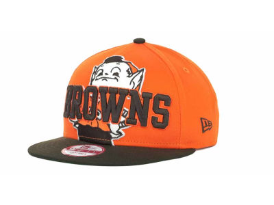 Cleveland Browns NFL Squared Up 9FIFTY Cap Hats