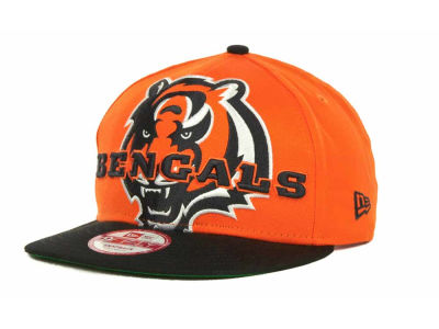 Cincinnati Bengals NFL Squared Up 9FIFTY Cap Hats