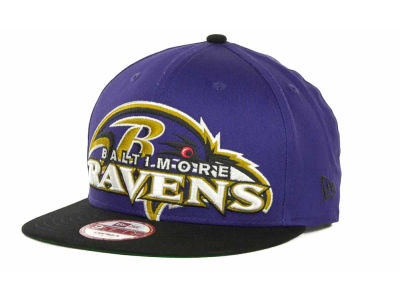Baltimore Ravens NFL Squared Up 9FIFTY Cap Hats