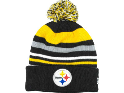 Pittsburgh Steelers NFL Stripe Out Knit Hats