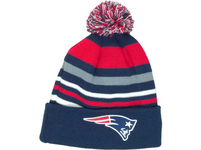 New England Patriots NFL Stripe Out Knit Hats