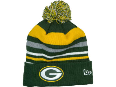 Green Bay Packers NFL Stripe Out Knit Hats