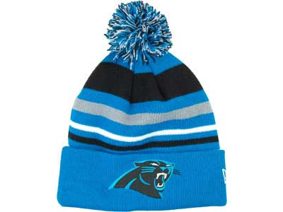 Carolina Panthers NFL Stripe Out Knit Hats
