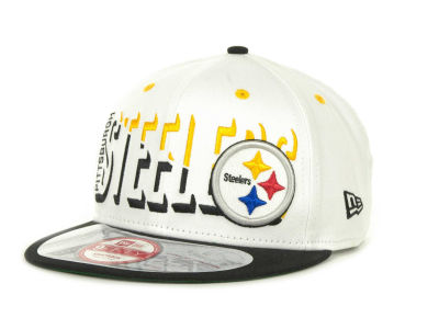Pittsburgh Steelers NFL Team Splitter 9FIFTY Cap Hats