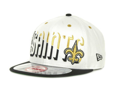 New Orleans Saints NFL Team Splitter 9FIFTY Cap Hats