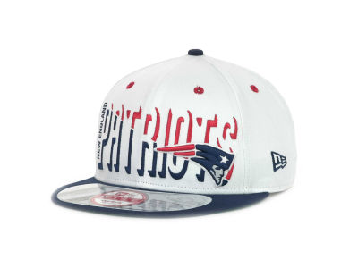 New England Patriots NFL Team Splitter 9FIFTY Cap Hats