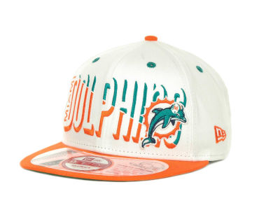 Miami Dolphins NFL Team Splitter 9FIFTY Cap Hats