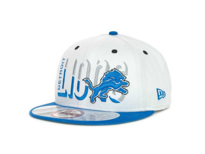 Detroit Lions NFL Team Splitter 9FIFTY Cap Hats