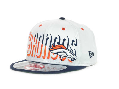 Denver Broncos NFL Team Splitter 9FIFTY Cap Hats