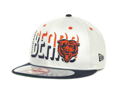 Chicago Bears NFL Team Splitter 9FIFTY Cap Hats