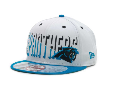 Carolina Panthers NFL Team Splitter 9FIFTY Cap Hats