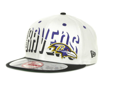 Baltimore Ravens NFL Team Splitter 9FIFTY Cap Hats