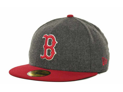 Boston Red Sox MLB Melton Basic 59FIFTY Cap Hats