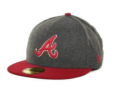 Atlanta Braves MLB Melton Basic 59FIFTY Cap Hats