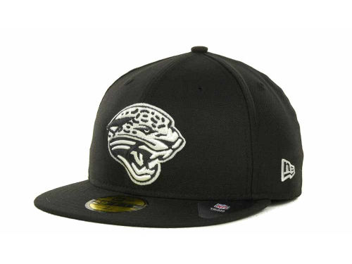 Jacksonville Jaguars New Era NFL 2013 Logo Change Fitted 59FIFTY Cap Hats
