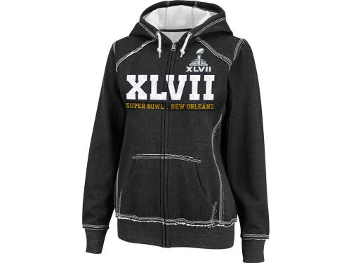 Super Bowl XLVII VF Licensed Sports Group NFL Super Bowl XLVII Wmns Pure Heritage IV Full Zip Hoodie
