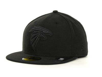 Atlanta Falcons NFL Black on Black 59FIFTY Cap Hats