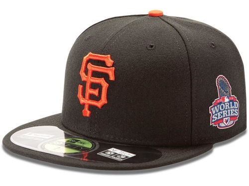 San Francisco Giants New Era MLB 2012 World Series Patch Cap Hats