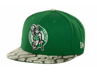 Boston Celtics NBA Hardwood Classics Snake Thru 9FIFTY Strapback Hats