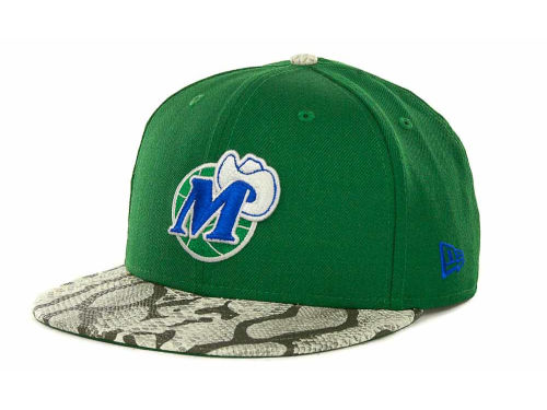 Dallas Mavericks New Era NBA Hardwood Classics Snake Thru 9FIFTY Strapback Hats